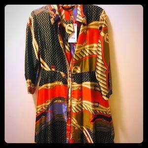 Gorgeous Zara Chain Shirtdress